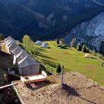 Der Camping Platz von Fairy Meadows