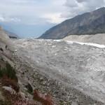 Der Gletscher des Nanga Parbat