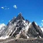 Der Mitre Peak von Concordia gesehen