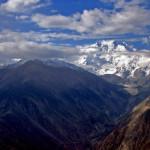 Der Nanga Parbat aus der Vogelperspektive