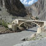 Brücke über den Hunza-Fluss
