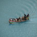 Bootfahrt über den Attabad-See