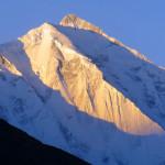 Der Gipfel des Rakaposhi - 7.788 m