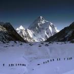 Expedition auf dem Weg zum K2 Base Camp