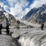 Auf dem Biafo Gletscher