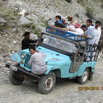 Jeepfahrt in den Bergen Nordpakistans