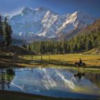 Nanga Parbat von Fairy Meadows