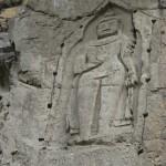 Felsgravierung Kargah-Buddha 7. Jhdt. bei Gilgit