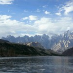 Der Attabad-See in Hunza