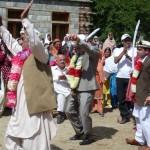 Klassischer Tanz bei einer Hochzeit in Hunza