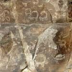 Jahrtausende alte Felszeichnungen nahe Karimabad