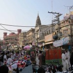 Bazarszene in Rawalpindi