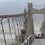 Brücke über den Indus bei Khapulu
