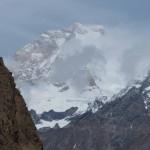 Der gewaltige Masherbrum nördlich von Hushe 7821 m