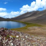 Der Sheosar See auf dem Deosai Plateau