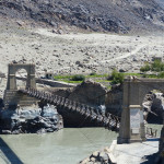 Brücke über den Indus am Karakorum-Highway