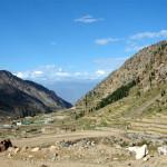Anstieg zum Babusar Pass