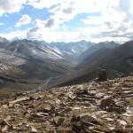 Blick vom Babusar Pass ins Naran Tal