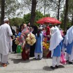 Souvenir-Verkauf beim Pakistan- Monument in Islamabad