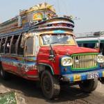Reisebus aus der alten Zeit