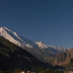 Der Rakaposhi bei Nacht - 7.788 m