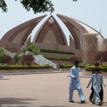 Das Pakistan-Monument in Islamabad