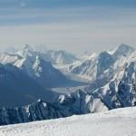 Blick vom Gipfel des Manglik Sar