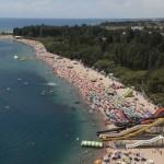 Strand des Yssyk Köl Sees