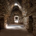 In der 500 Jahre alten Karawanserei von Tash Rabat