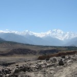 Das Nanga-Parbat-Massiv vom KKH gesehen