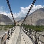 Brücke über den Indus