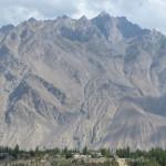 Berge im Industal bei Skardu