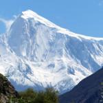 Der Spantik oder Golden Peak - 7.027 m