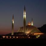 Shah Faisal Moschee in Islamabad