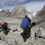Am Concordia Gletscher