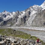 Der Gondogorola Gletscher