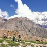 Auf dem Rupal Peak Trek - Der Nanga Parbat