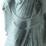 Bodhisattva Maitreya mit Bart (Gandhara-Kultur)