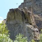 Der Kargah-Buddha nahe Gilgit