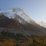 Der Nanga Parbat von einem Lager beim Shaigiri Peak gesehen
