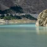 Der Attabad-See nahe Gulmit