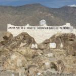 Der 3-Gebirge-Punkt von Hindukusch-Karakorum-Himalaya