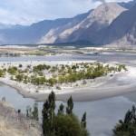 Kurve des Indus bei Skardu