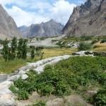 Das nördliche Hushe-Tal - Begin des Treks