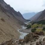 Auf der Rückfahrt - Das südliche Hushe-Tal